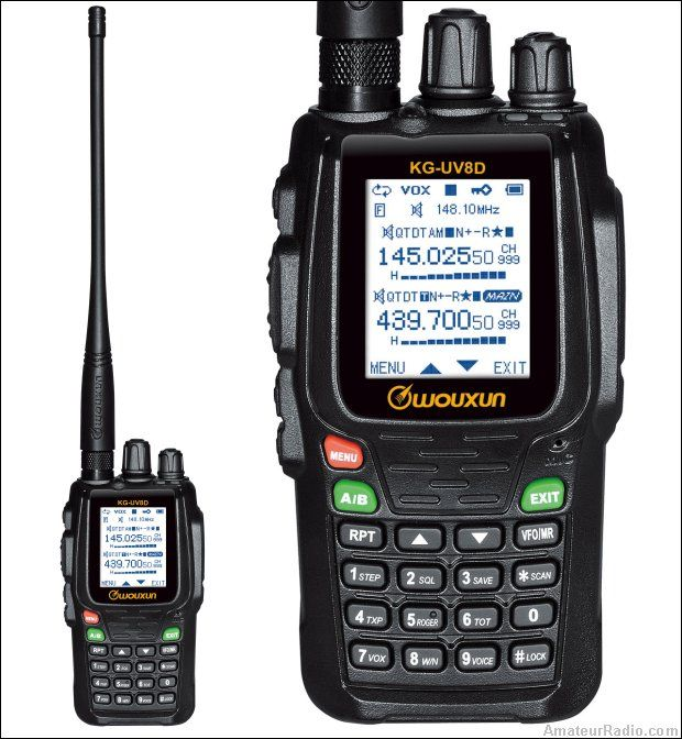 The Ham Radio HideOut: Wouxun's New Hand Held Amateur Radio HT