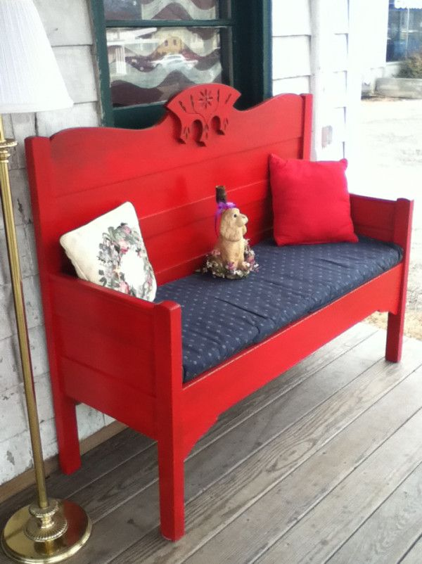 Red Bench (For sale!)