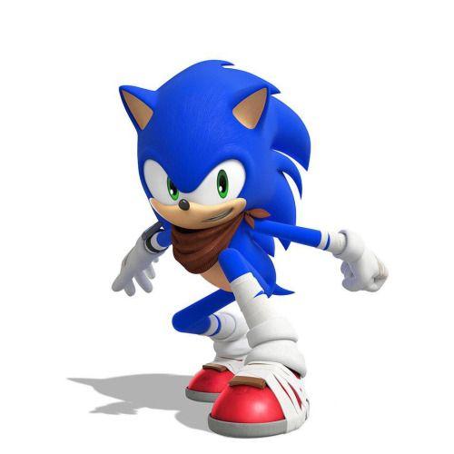 Sonic the hedgehog (#FOR SEASON 2 OF SONIC BOOM)