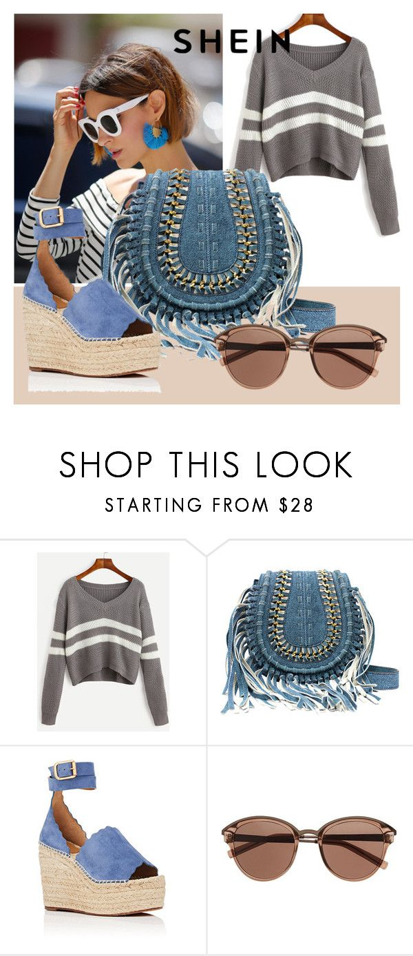 """""""street style"""" by ruzica-713 ❤ liked on Polyvore featuring Chloé and Witchery"""