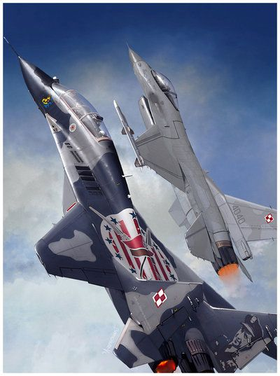 POLISH AIR FORCE by dugazm.deviantart.com on @deviantART