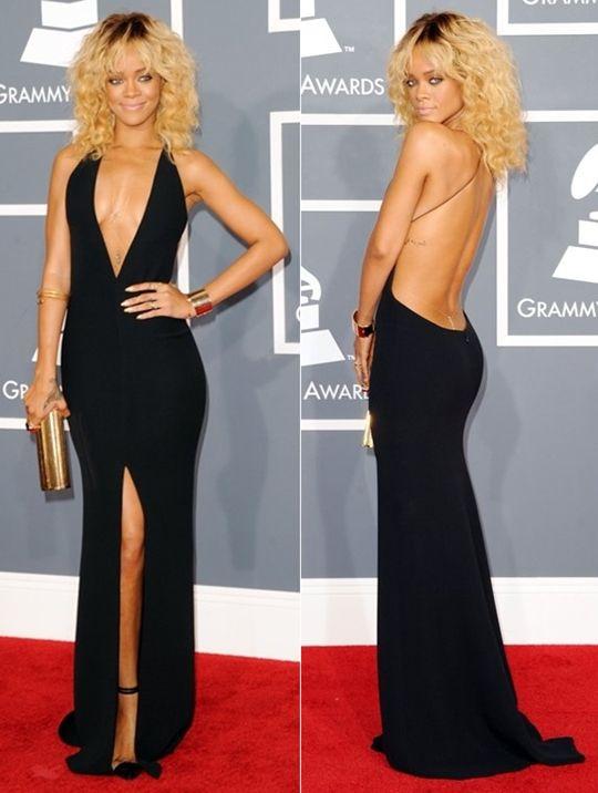 Rihanna | Armani Privé | Grammy Awards 2012