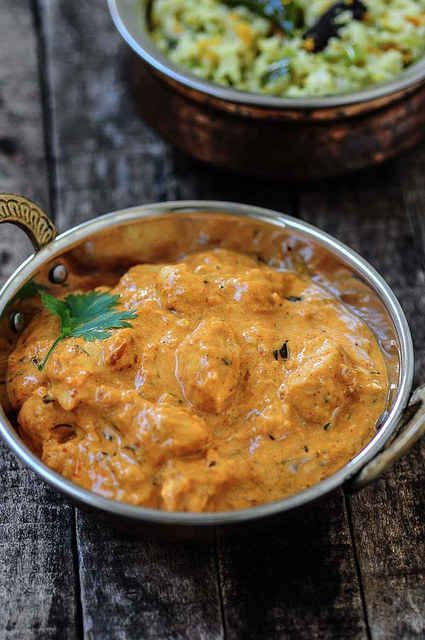 Indian Butter Chicken. Mmm...this website has 23 Classic Indian restaurant dishes you can make at home.