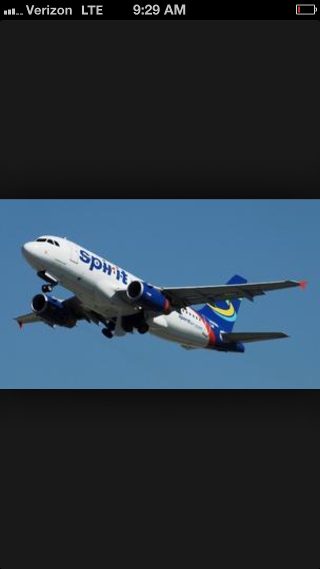 Spirit airlines traveling planes pinterest for Spirit airlines one way