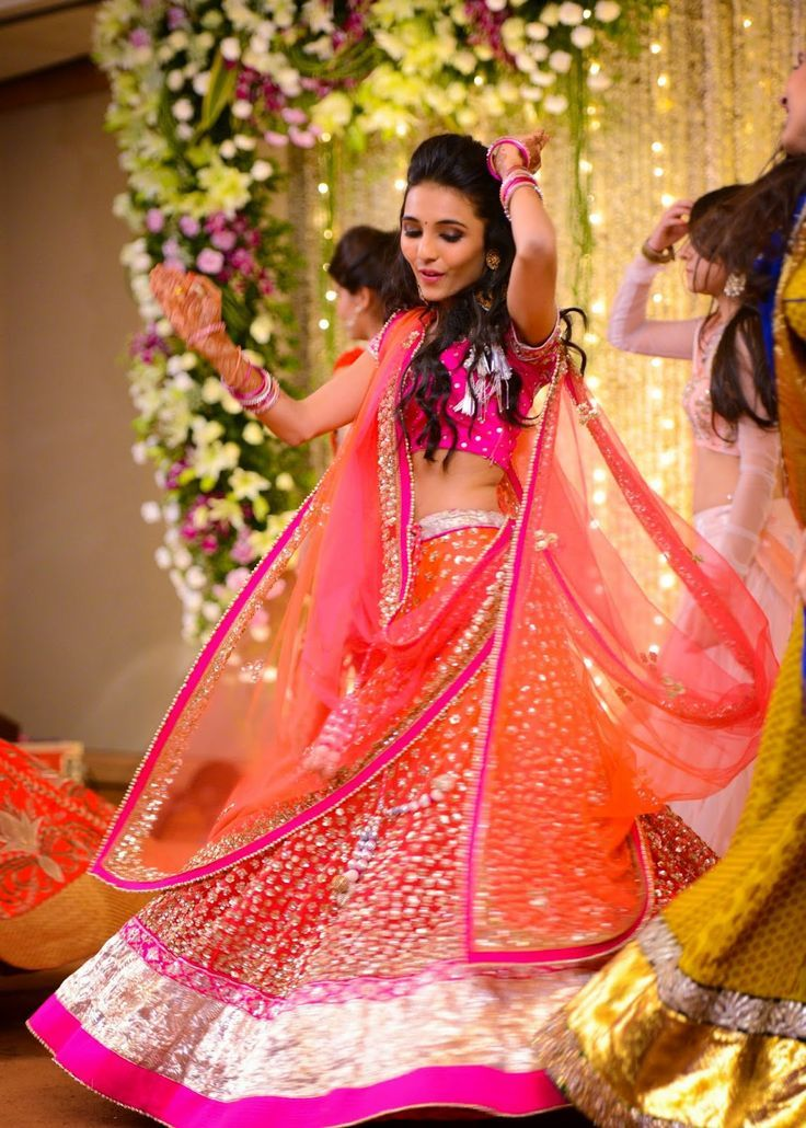 24 Best Sangeet Dresses Images On Pinterest India