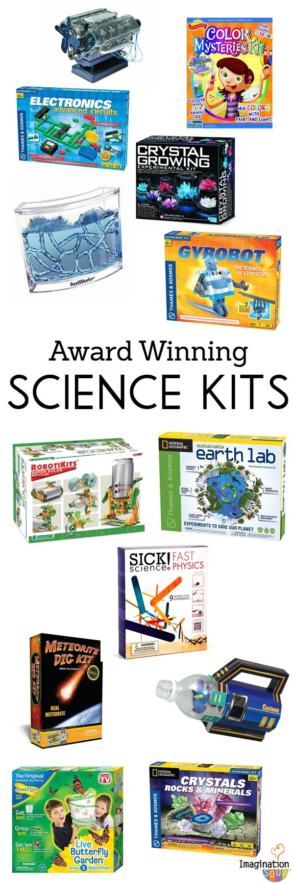 great gift ideas --> Science Kits for Kids