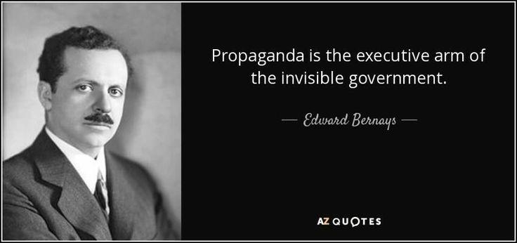 ~ Edward Bernays