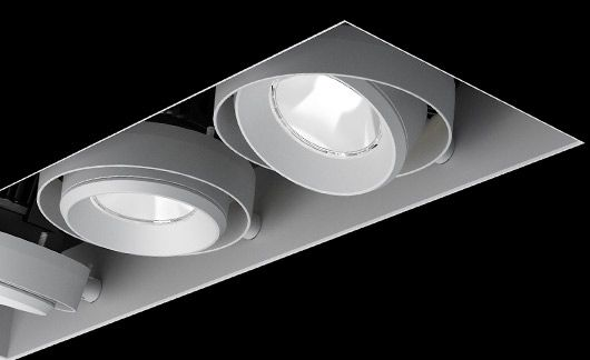 LF Illumination | The MF350 includes deep walls on both the trimmed and trimless inserts. This helps to conceal the inner components of the recessed housing from view below the ceiling. This makes for a very clean and quiet look, especially when specifying a white fixture.