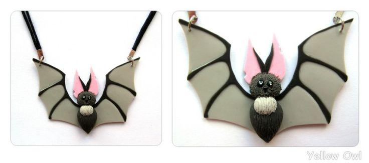 Изделия-украшения на тему Хэллоуина: polymerclayfimo