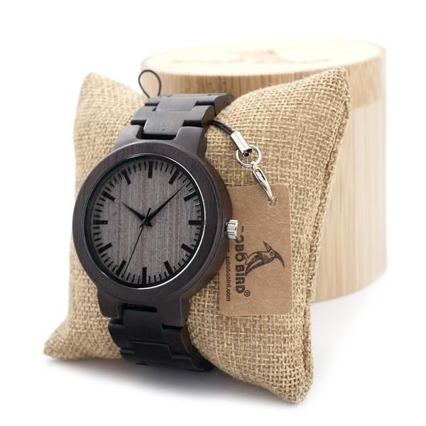 Maple Wood Watch Dial Window Material Type: Glass Water Resistance Depth: No waterproof Movement: Quartz Dial Diameter: 4.5 mm Clasp Type: Buckle Boxes & Cases Material: Wood Band Material Type: Leath