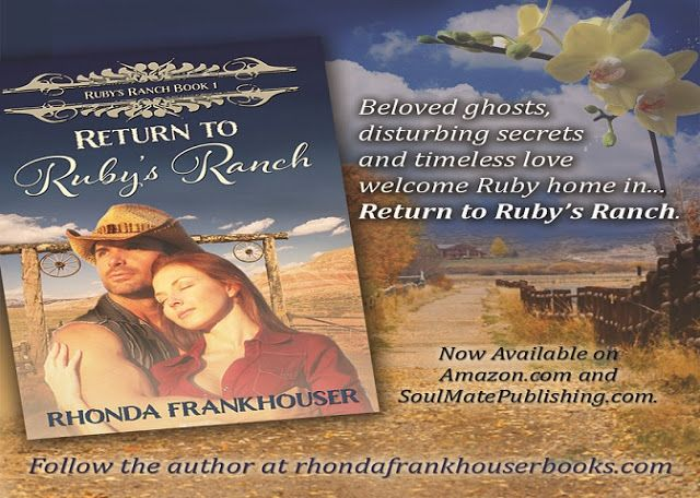 Tracey A Wood's - The Author's Blog - Blog spot: Return to Ruby's Ranch by Rhonda Frankhouser