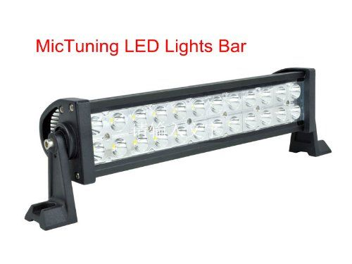 MicTuning MIC-B2722 10-30V 13.5 72W LED lights bar Flood Beam Super Bright 5000 Lm 4×4 off road ATV SUV Jeep Brand New in MicTuningTM Brand LOGO Package. DISCLAIMER: MicTuningTM is brand of Mic Tuning Inc. Any other seller are  not  authorized MicTuningTM Dealer! their Lights ARE NOT covered under MicTuningTM Brand Warranty *** Mic Tuning Inc is not related to them in any way****Mic Tuning Inc... #MicTuning #Automotive_Parts_and_Accessories