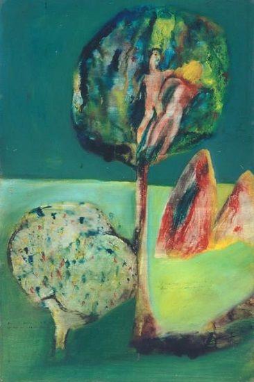 Sidney Nolan: Arabian Tree (1943)