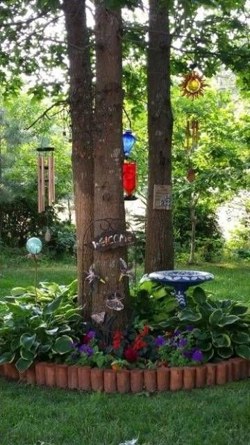 If you want to enjoy in your beautiful garden, you need to constantly decorate and maintain it. There are many creative ways and interesting ideas for decorating and landscaping, which will provide excellent aesthetics of your garden.