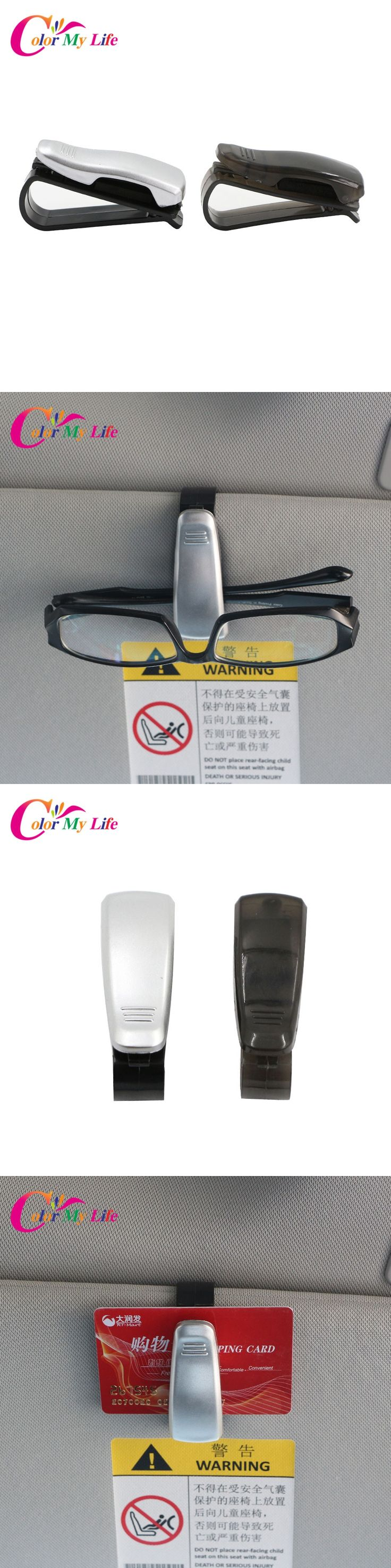 1 Piece ABS Car Glasses Holder Card Ticket Holder Clip for Opel Insignia Corsa Zafira Vectra Antara Tigra Meriva