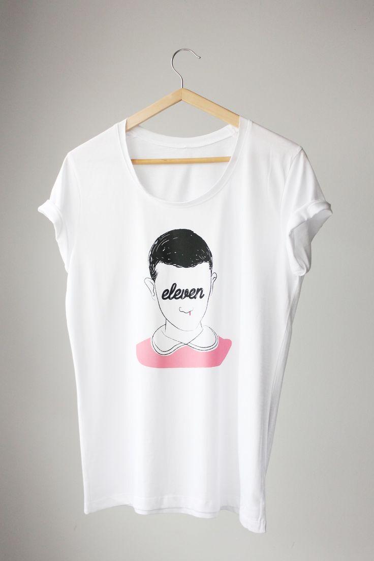Image of Camiseta Eleven, 'Stranger Things' chica