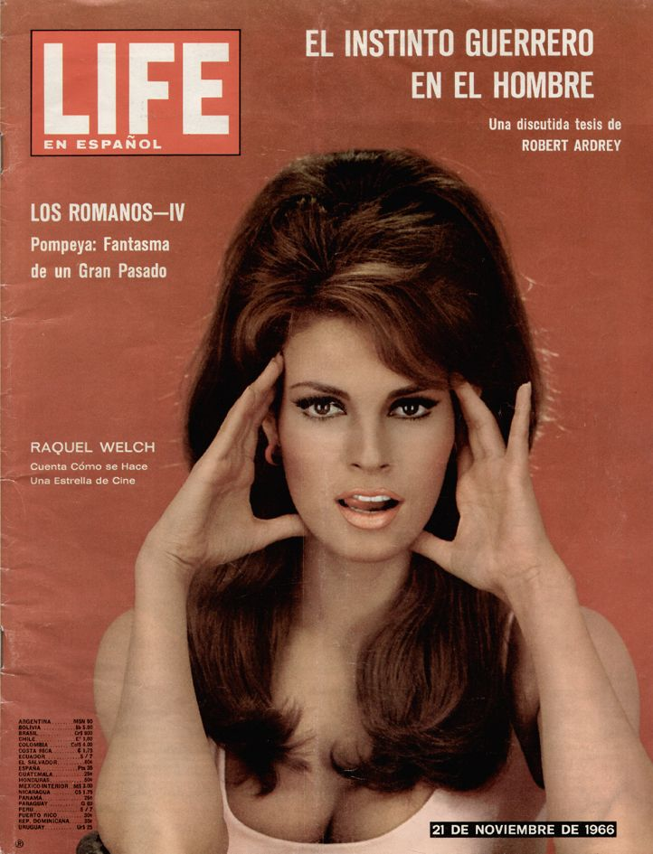 Raquel Welch what a vintage queen she is!                                                                                                                                                                                 More