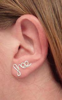 TUTORIAL************Fai da te Idee: orecchini fai da te ...alcuni modelli