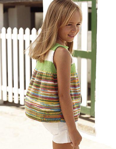 Revista Niños 81 Primavera / Verano | 38: Niños Jersey | Verde-Amarillo-Turquesa-Rosa / Verde claro / Crudo