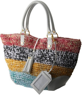 Multi color tote / ShopStyle: Jill Stuart マルチカラートートバッグ