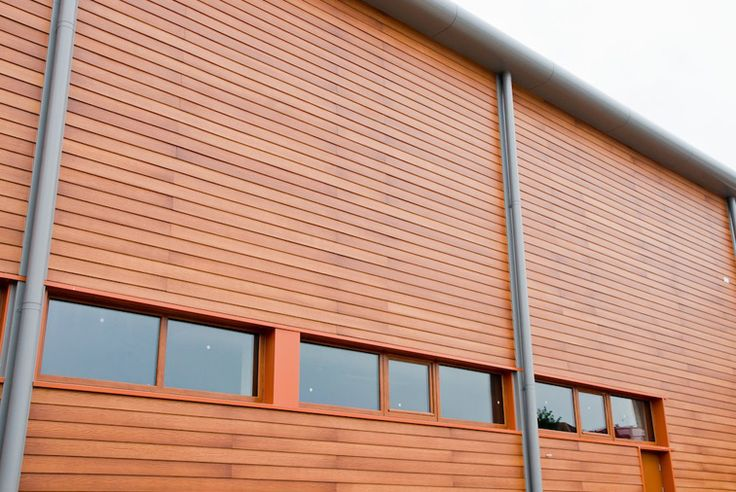Cedral Weatherboard In Light Oak Used On Mayberry Garden