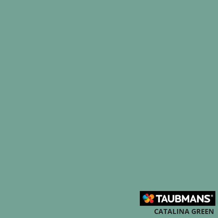 #Taubmanscolour #catalinagreen Master Bedroom