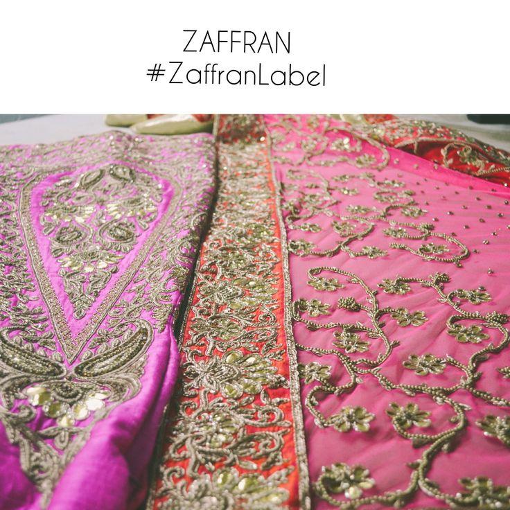 Bridal luxury lehenga ensemble by ZAFFRAN. Customercare.zaffran@gmail.com