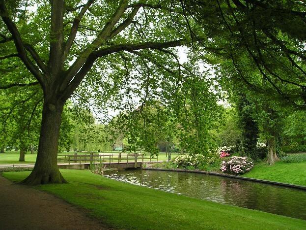 Volkspark. Enschede Holland