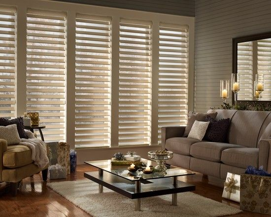 Dining Room and Living Room with Hunter Douglas Blinds: Cool Simple Modern Living Room Design Ideas With Hunter Douglas Blinds Design Ideas And Sofa Design Ideas Also Table Design Ideas Decor Ideas Lighting Ideas Wood Floor Design Ideas Window Design Ideas And Pillow Ideas