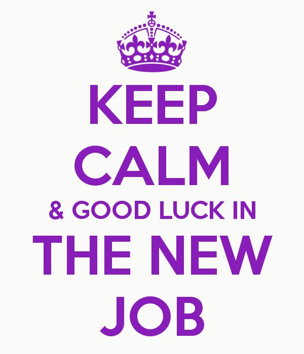 27 Very Best Good Luck For You Job Wishes Pictures New