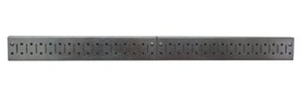 Metal Pegboard Strip - Galvanized Pegboard by Wall Control, http://www.wallcontrol.com/3in-x-32in-galvanized-metal-pegboard-strip-metallic-pegboard-rail-pack/