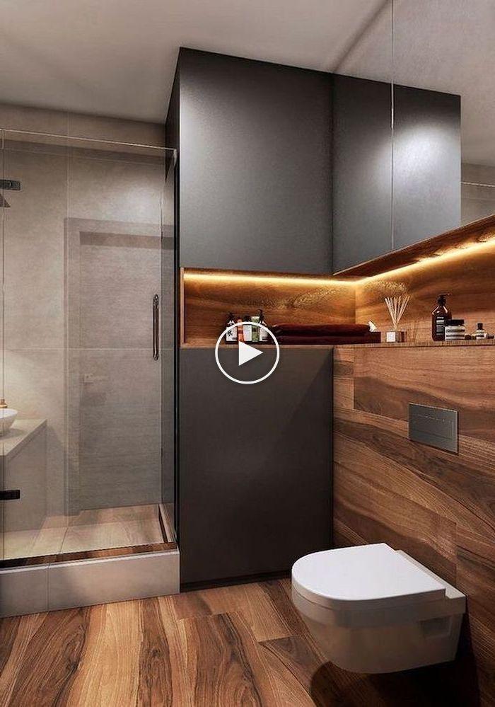 ▷ 1001 + Ideen für schöne Badezimmerdesigns auf kleinem Raum