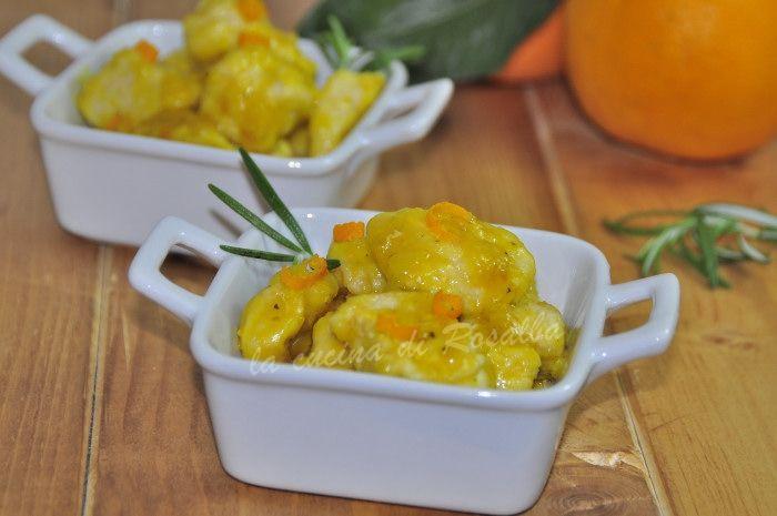 bocconcini di pollo arancia e rosmarino | la cucina di rosalba