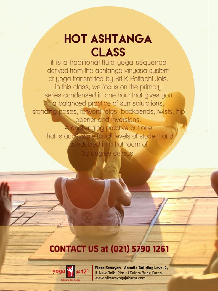 New to ashtanga? Have a stiff body? Love to sweat?  Need to develop strong upperbody and core at the same time rejuvenate your mind?  Only have an hour a day? Join hot ashtanga