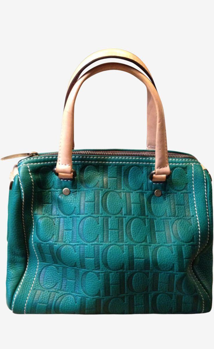 Carolina Herrera Handbag Totes | Carolina Herrera Green Handbag