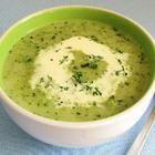 Foto recept: Courgette-broccolisoep