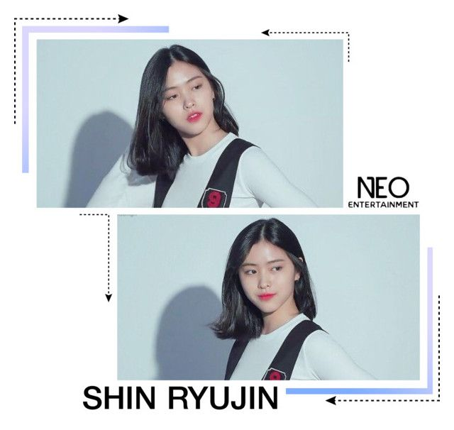 """""""━ Trainee / Shin Ryujin"""" by neo-ent ❤ liked on Polyvore"""