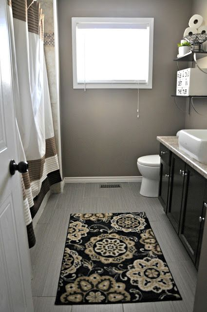 This is what our bathroom would look like if we tore out the little wall.