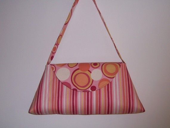 pdf Sewing Pattern  Aivilo Flapper Purse  3 Styles in 1