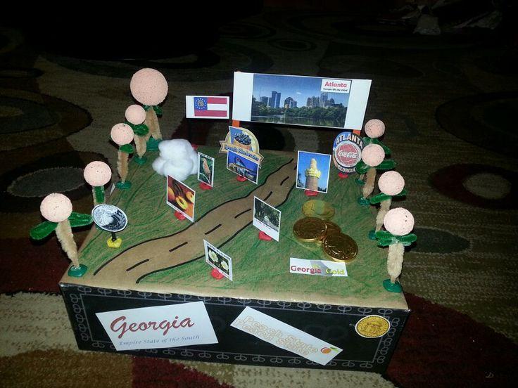Georgia State Float School Project Craft Ideas