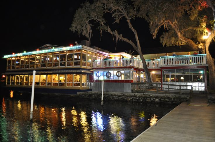 Waterfront seafood dining, Charlie Browns Crab House - Homosassa FL (Used to be the Yardarm Restaurant in the 1970's... see other photo)