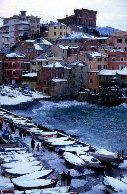 Boccadasse- Genova.