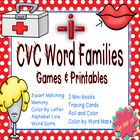 10 activities for learning medial 'i' short vowel CVC word families!  Word families included: -ib, -id,-ig, -in, -ip, -ip, -ix  Lots of fun activit...