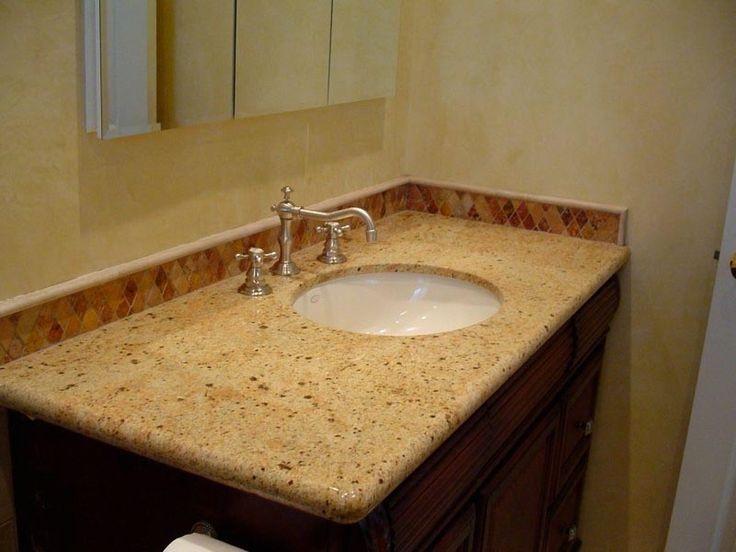 Pic Of Granite bathroom Countertops Juparano Saint Cecilia Granite bathroom counter top