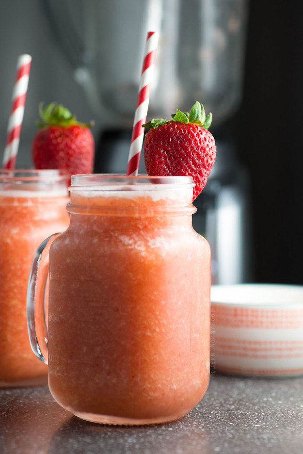 Summer Fruit Wine Slush | 21 Wine Slushies That Will Rekindle Your Love Affair With Wine