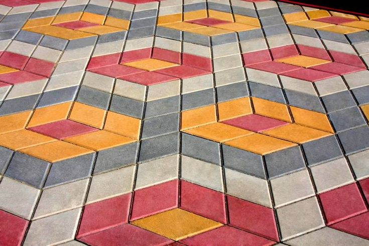 this is a fun pattern you can use when using Pacific Interlock's Diamond pavers.