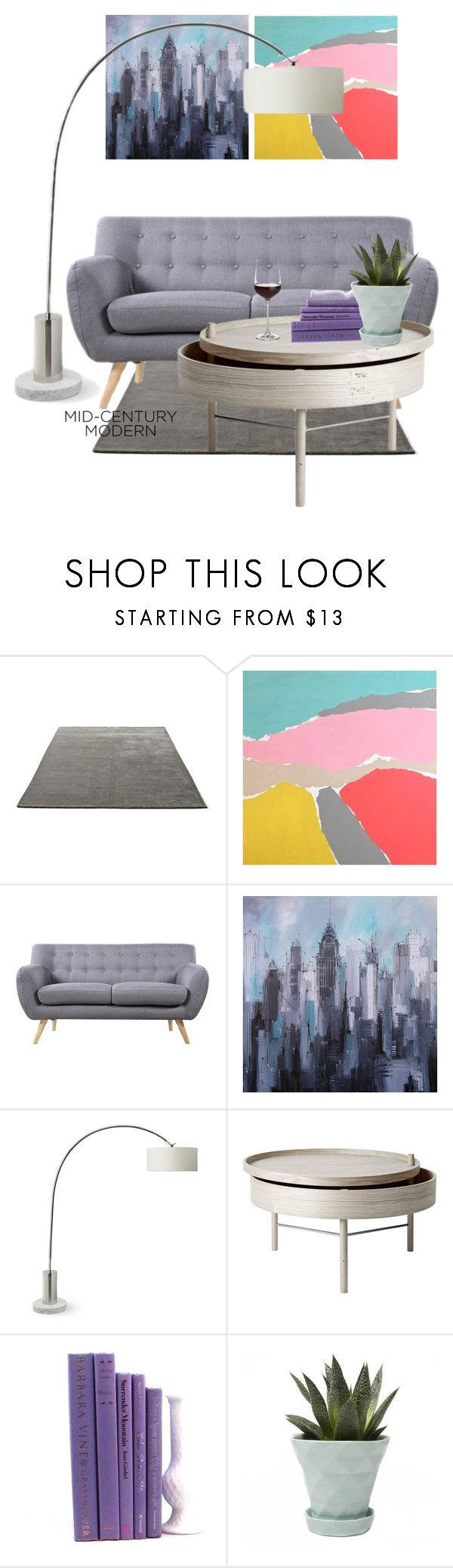 """""""#midcenturymodern"""" by jmf-image ❤ liked on Polyvore featuring interior, interiors, interior design, home, home decor, interior decorating, &Tradition, Alan Fears, Madison and Williams-Sonoma"""