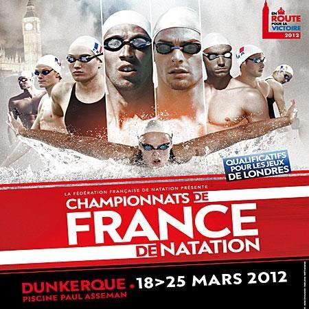 Championnat de France de Natation Elite 2012