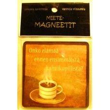 Onko elämää ennen... magneetti, 2,80€