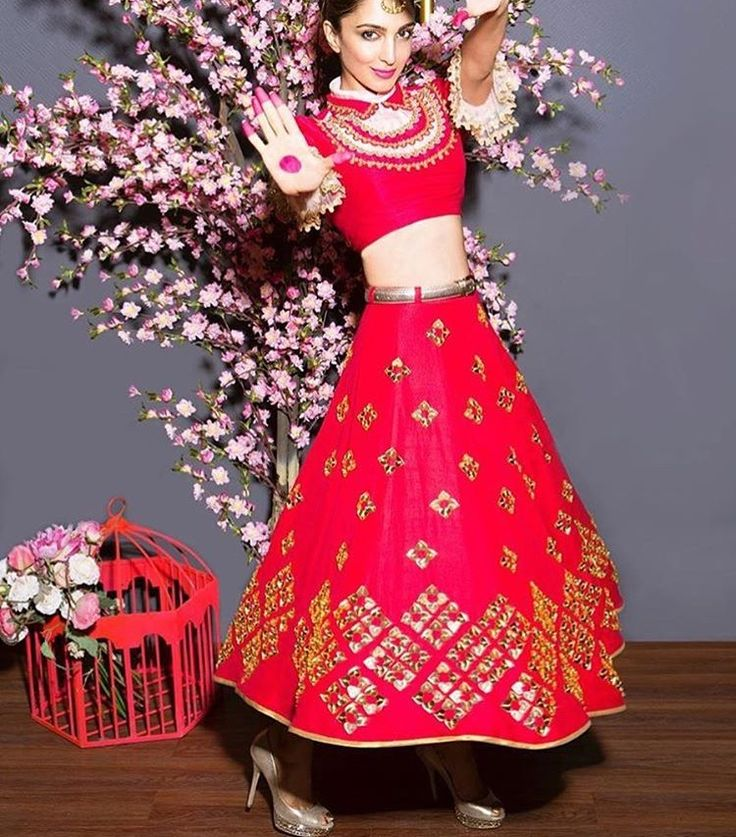 Papa don't preach # lehenga # fusion wear #